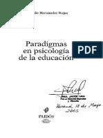 Hernandez, Rojas. Paradigmas en Psicología de La Educación (Cap. 8)