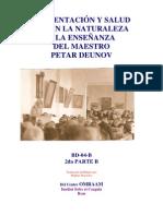2da Parte Alimentacion y Salud Peter Deunov