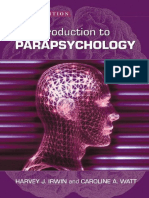 An Introduction to Parapsychology 2007