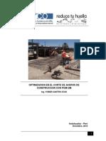 Optimizacion en El Corte de Aceros de Construccion Con Pom-qm
