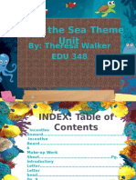 edu 348 theme unit - under the sea theme