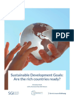SDGs Are the Rich Countries Ready 2015