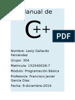 Manual de C++