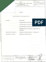 Norma 181-88 Montaje de Equipos Para Subestaciones DeTransmisión. Instalaciones de Estructuras.