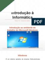 Prática nº 02 - Sistema Operativo Windows 7 - 1º Parte
