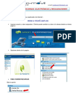 Manual Recargas Por Internet C-movil Clientes 2015 CA