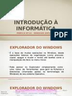Prática nº 04 - Sistema Operativo Windows 7 - 3º Parte