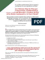 Il Clan Del Marketing Automatico (SalesLetter) _ Www.marketing-Automatico