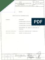 Norma 183-88 Montaje de Equipos Para Subestaciones DeTransmisión. Instalaciones Eléctricas de Los