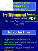 Hypertensive disorders on Pregnancy