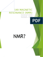 NUCLEAR MAGNETIC RESONANCE (NMR).pptx