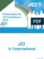 Présentation de La JCI Casa 2016