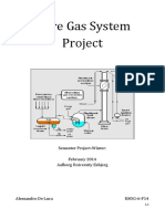 Flare Gas System Project Winter Semester
