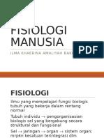 FISIOLOGI MANUSIA