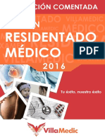 Examen Residentado Médico 2016 Comentado