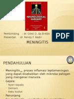 Meningitis Bedah anak