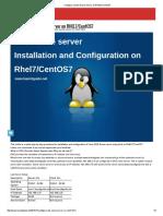 Configure a DNS Name Server on RHEL7_CentOS7