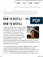 How to Distill - 101 – Copper Moonshine Still Kits - Clawhammer Supply