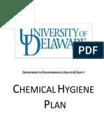 Chem Hygiene Plan