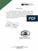 Notifica Complementa resolución que aprueba programa de cumplimiento