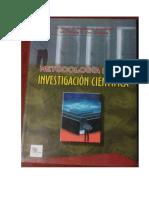 Metodologia de La Investigacion Cientifica (Velazquez, Rey)