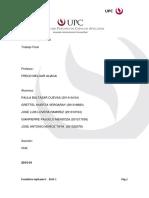 Trabajo Final Estadistica - Ing. Industrial UPC