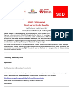Step It Up for Gender Equality Forum Programme en 170208 v2
