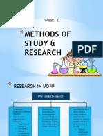 Topik 2 Research Methods in IO