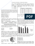 Aulão OBG - Matemática - Estatística