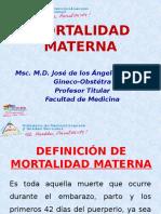 Causas de Mortalidad Materna