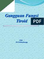 Gangg Fungsi Tiroid