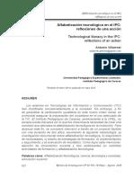 Alfabetización Tecnológica en El IPC_reflexiones de Una Acción