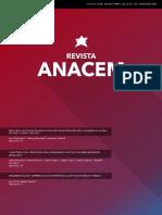 Revista Anacem 9(2)
