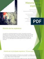 Historia de Los Explosivos