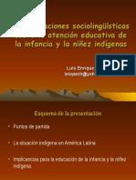 Consideraciones Sociolinguisticas Sobre