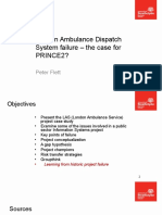 London Ambulance Dispatch System2015
