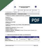 Nitrogeno Liquido HDS-2