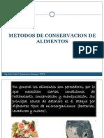 METODOS DE CONSERVACION