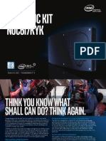 Intel® NUC Kit NUC6i7KYK Brief - What Can Small Do for You