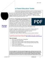 Patient Education Toolkit