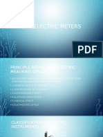 Basic Electric Meters