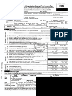 Green Knight Economic Development Corporation IRS Form 990 for FY2014