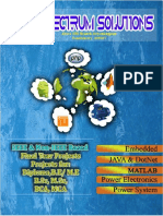 Final Year Project - (Power Electronics/Systems , Electrical Machines IEEE 2016-17 Project List