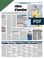 TuttoSport 22-12-2016 - Calcio Lega Pro
