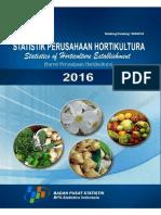 Statistik Perusahaan Hortikultura 2016