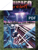 Vampire the Masquerade - City - Chicago by Night (1º Edtion)