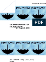 Urban Rainwater Harvesting_BUET MARCH_24Augst 2014 Ed2