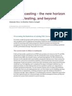 PL Forecasting the New Horizon