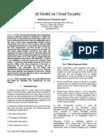 A Hybrid Model on Cloud Security