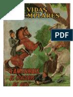 Vidas Ejemplares - Lammenais, El Corsario de Dios